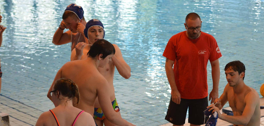 Entrainement Water polo CNF